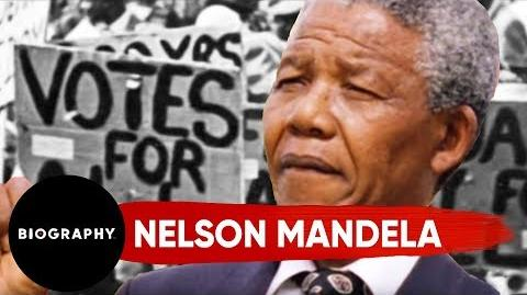 Nelson Mandela - Civil Rights Activist & President Of South Africa Mini Bio BIO