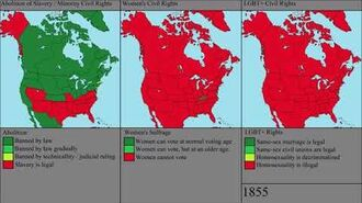 The History of Civil Rights in the US and Canada Every Year