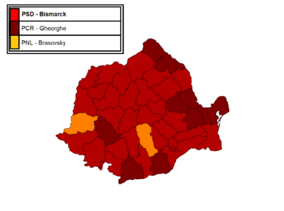 Chawosaurian Legislative Election in Romania, 2005