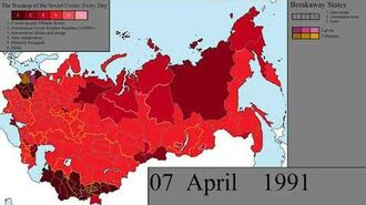 The Collapse of the Soviet Union Every Day