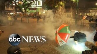 Increasingly violent protests erupt in Hong Kong - ABC News