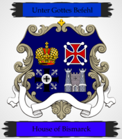 Coat of Arms of the Bismarck Family