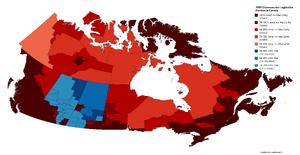 1999 Chawosaurian Legislative Election in Canada