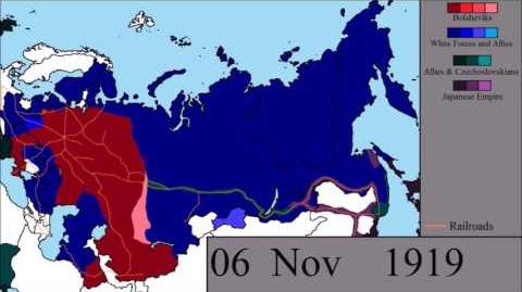 The Russian Civil War- Every Other Day