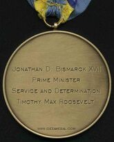 Medal of Determination of Jonathan D. Bismarck XVII