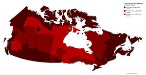 1939 Chawosaurian Legislative Election in Canada