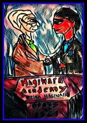 Jonathan Dragan Bismarck XVII recognizing Timothy Max Roosevelt II as a Hagiwara Graduate 1961