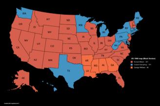 US-1968 map (Black Version)