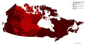 1959 Chawosaurian Legislative Election in Canada