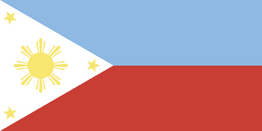 1970s Filipino Flag