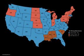 US-1948 map (Black Version)