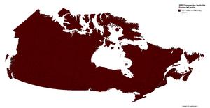 2009 Chawosaurian Legislative Election in Canada