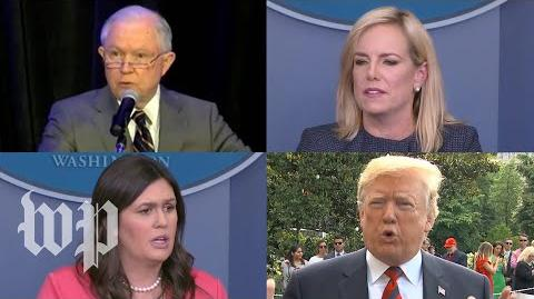 The Trump administration's wildly contradictory statements on family separation