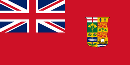 1870-1921 Canadian Flag