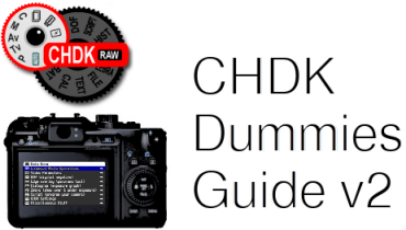 CHDK Dummies Guide 2nd Edition | CHDK Wiki | FANDOM powered by Wikia