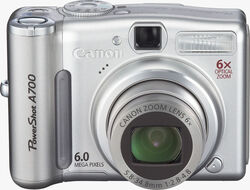 Canon-powershot-a700 front