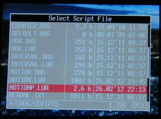 2.motionP load script