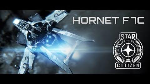 Star Citizen Official Anvil Aerospace Hornet Commercial