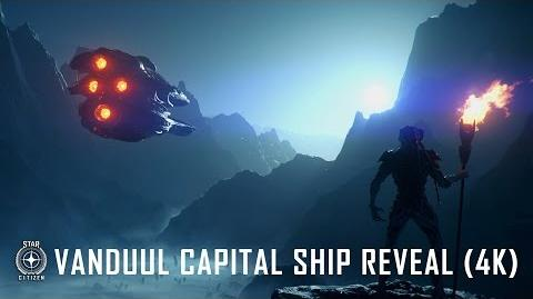 "Star Citizen Vanduul ""Driller"" Captal Ship Reveal 4K"