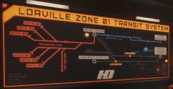 Lorville transit system