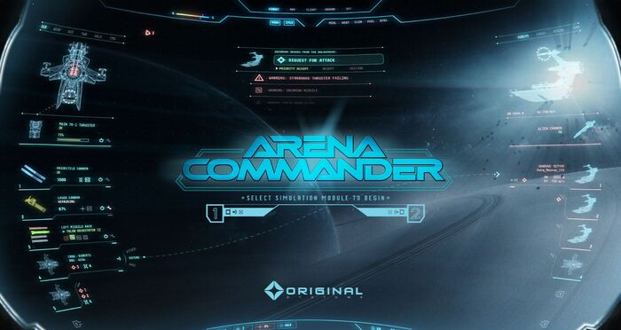 Arena Commander simulation