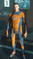 Venture Undersuit Orange Black