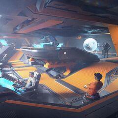 Cockpit du Pioneer