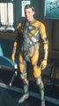 Odyssey II Undersuit Orange Black