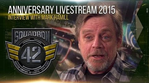 Squadron 42 - Interview with Mark Hamill - VOSTFR