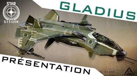 GLADIUS ► PRÉSENTATION - Les vaisseaux de STAR CITIZEN
