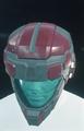 Balor HCH Helmet Dark Red