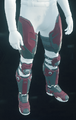 PAB-1 Legs Dark Red