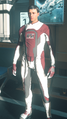 Venture Undersuit Red White