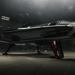 Hurricane hangar posé