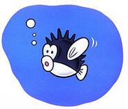 SMB3 SpinyCheep-Cheep artwork