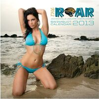 Jacksonville Jaguars Official ROAR Cheerleaders 2013 Calendar