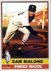 Sam Malone Red Sox