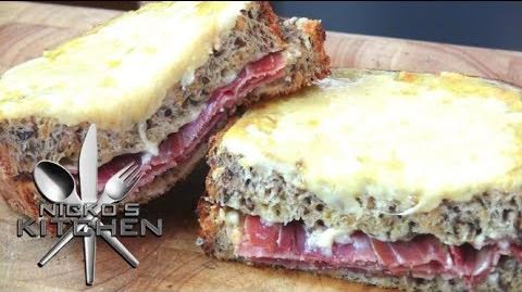 Ultimate Grilled Cheese 'Croque Monsieur' - Video Recipe