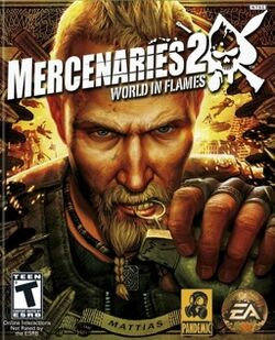 Mercenaries 2 cover art