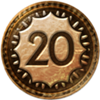 100px-64px-Uncharted 3 trophy Apprentice Fortune Hunter