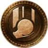 100px-64px-Uncharted 3 trophy Drop the Bomb Hotshot