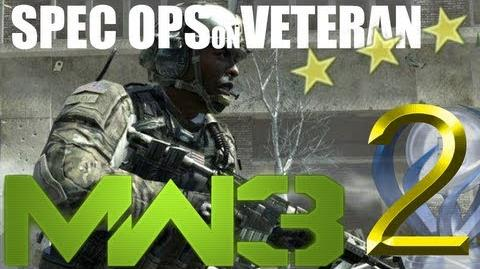 Modern Warfare 3 Spec Ops on Veteran Milehigh Jack