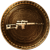 100px-64px-Uncharted 3 trophy 30 Kills Dragon Sniper