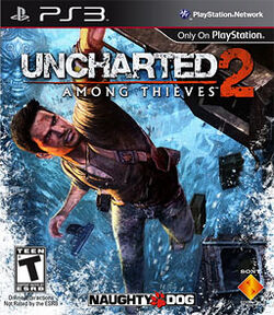 Uncharted 2 updated PS3 logo