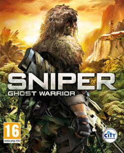 Sniper Ghost Warrior box art