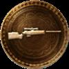 100px-64px-Uncharted 3 trophy 30 Kills T-Bolt Sniper