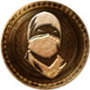 100px-64px-Uncharted 3 trophy Master Ninja