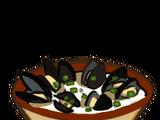 Moules à la crème Normande