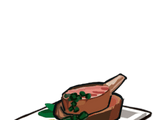 Roast Lamb with Mint