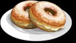 Dish-Vanilla Cream Donuts